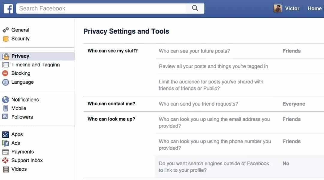 نصائح حول خصوصية حسابك على فيسبوك