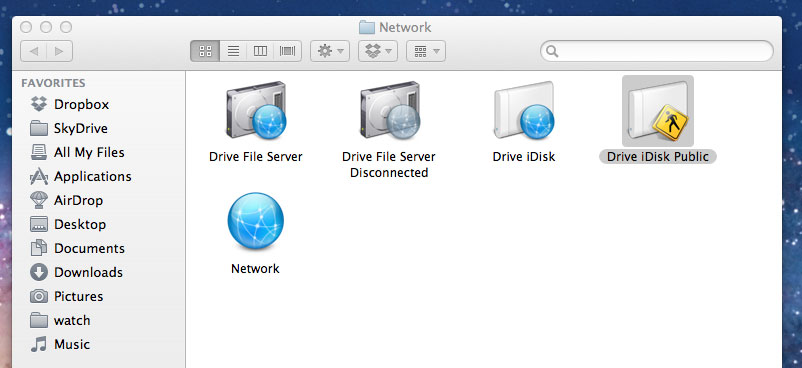 How To (Mac OSX): Change the default network drive mount