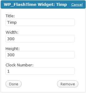 25 Flash Clocks For WordPress