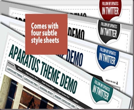 Aparatus WordPress Theme
