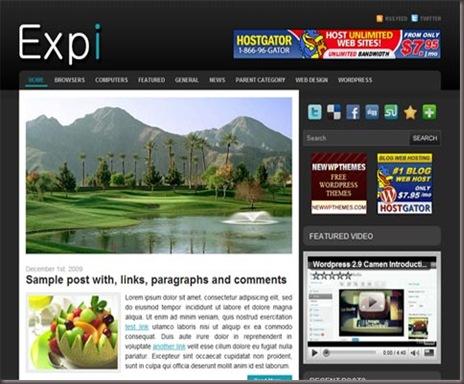 Expi WordPress Theme