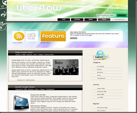 Lite Flow WordPress Theme