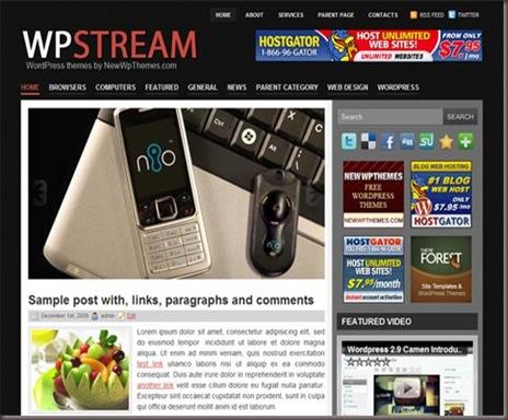 WpStream WordPress Theme