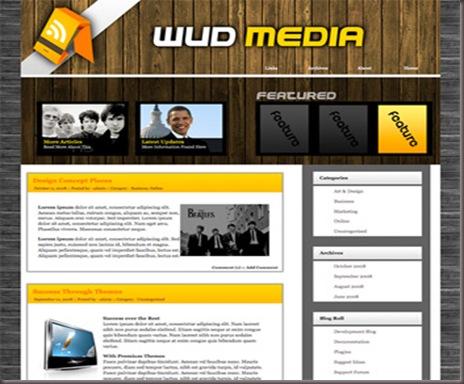 Wud Media WordPress Theme
