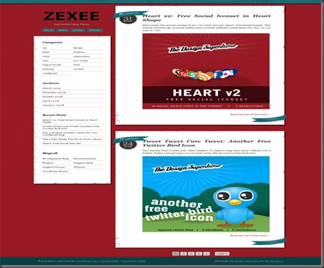 Zexee WordPress Theme