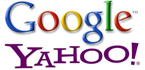 Google and Yahoo!