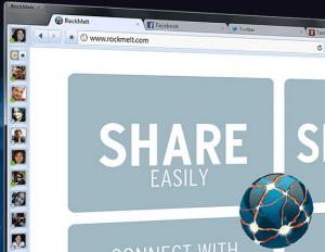 Story behind Rockmelt Browser Domain name