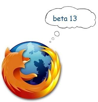 mozillia hints firefox 4 beta 13