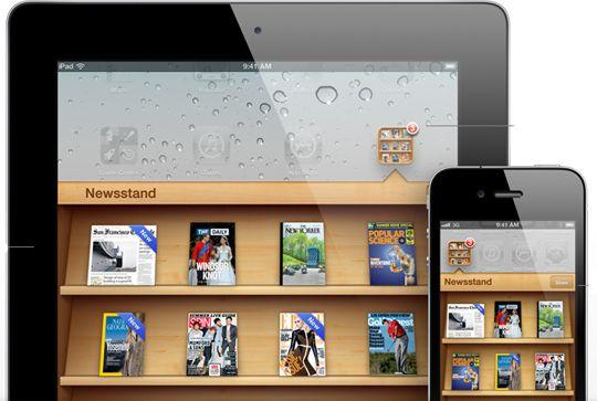 ios 5 features newsstand folder