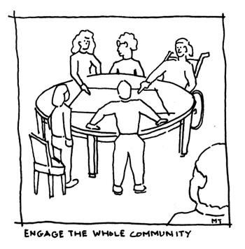 Engage with Community