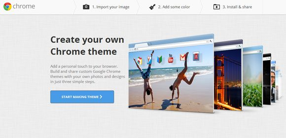 chrome app my theme creator
