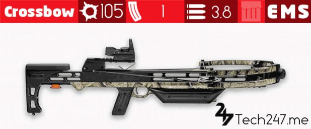 سلاح Crossbow في لعبة ببجي - لعبة PUBG