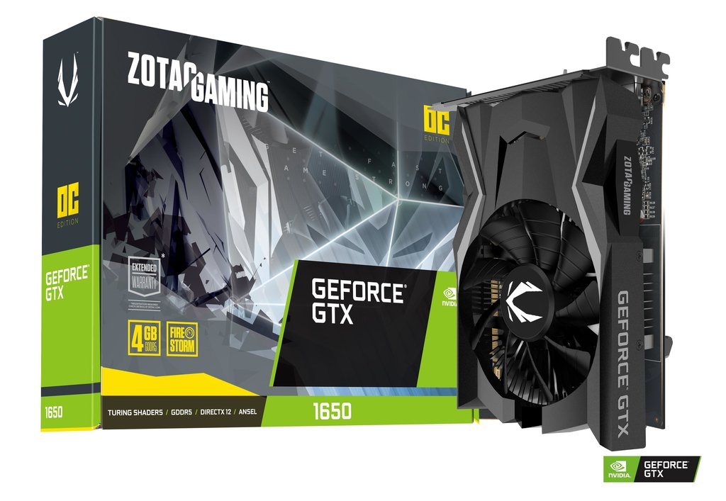 ZOTAC GAMING GeForce GTX 1650 OC 4GB GDDR5 128-bit GPU - Tech2Sports