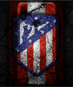 Atlético Madrid Logo Art Mobile Back Cover