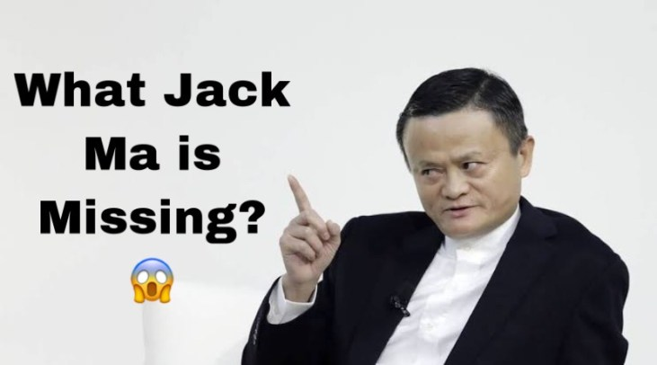 Jack Ma is Missing