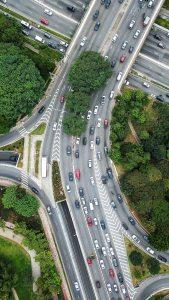 La Distancia Social, ejemplo para la carretera.
