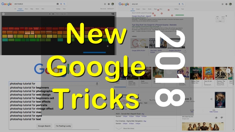 15 Cool New Google Tricks You Should Know (2018)