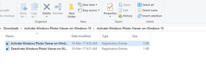 activate windows photo viewer