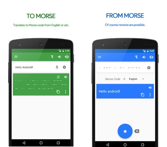 morse code apps for android