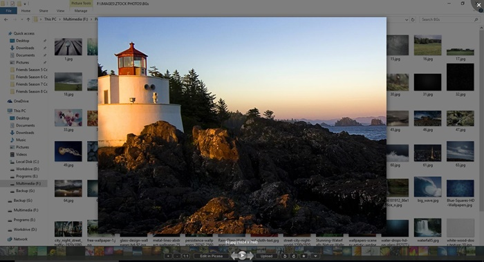 best photo viewer for windows 10 picasa