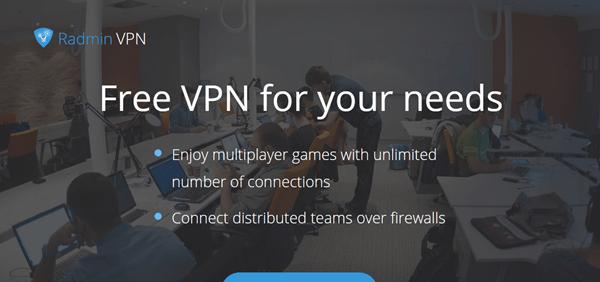 Radmin VPN Hamachi Alternative