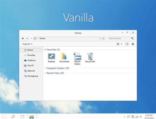 best windows 10 themes vanilla