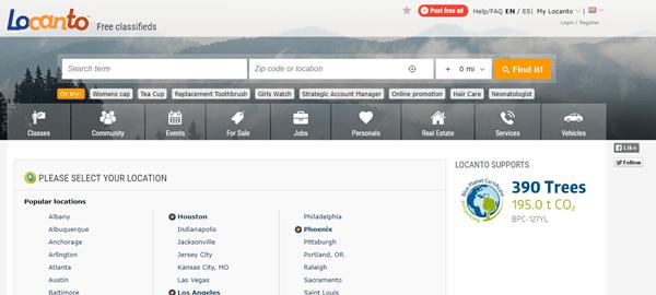 Websites like locanto