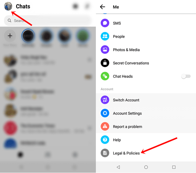 Deactivate Messenger 2