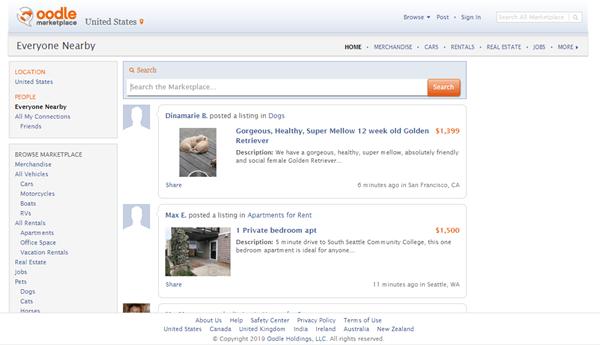Sites Like Craigslist - oodle