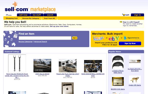 Sites Like Craigslist - Sell