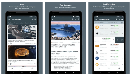 Cryptocurrency News Apps