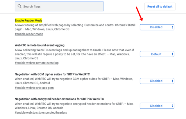 How To Activate Hidden Reader Mode in Google Chrome