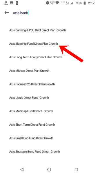 Select Fund Groww