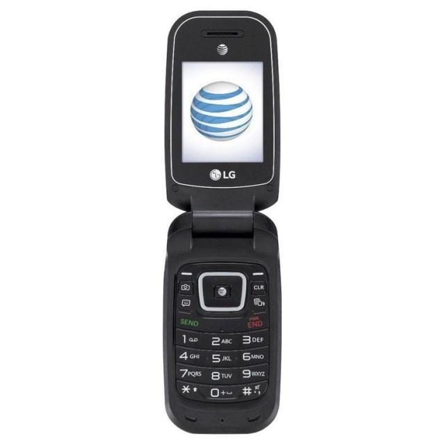 LG B470 Flip Phone
