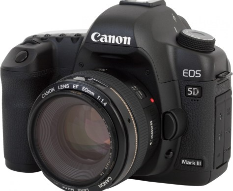 mark iii - another camera in the list of new gadgets in 2012