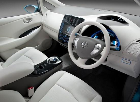 Nissan Leaf has stunning interior