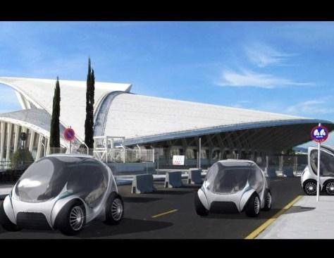 Hiriko - the electric car has a stunning design