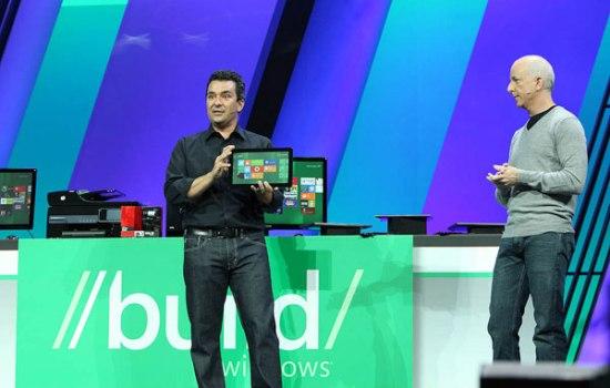 Windows 8 features an interesting interface design