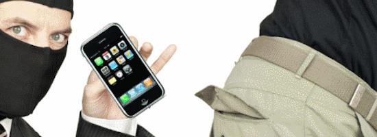 iPhone stolen