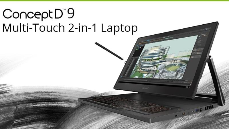 Acer ConceptD 9: Specifications, review, and more