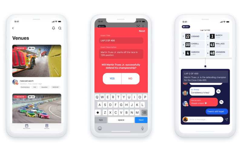 Facebook to provide interactive live events with Venue