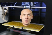 3Dprinting-Bald Guy
