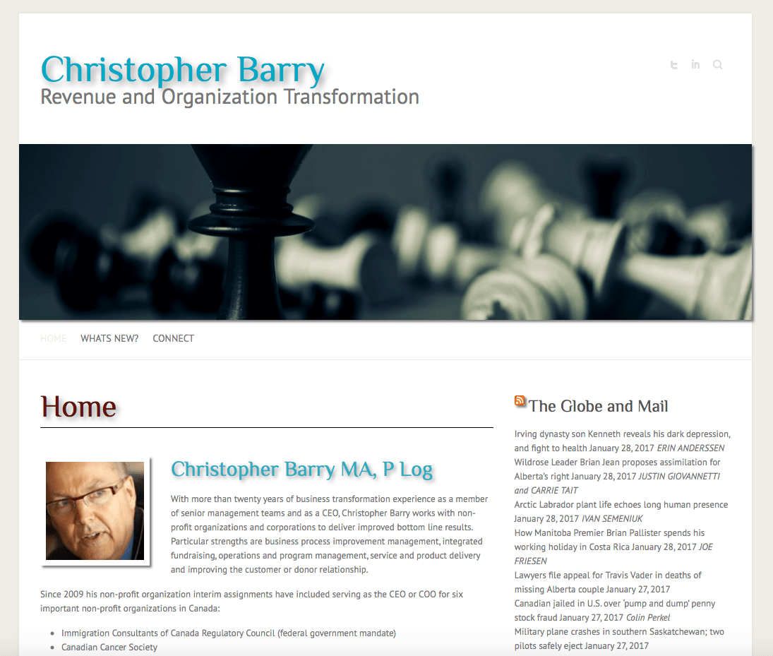 Christopher Barry