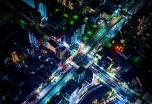 junction-traffic-aerial-view-urban-photo-transportation-innovation-blacklane-night-city