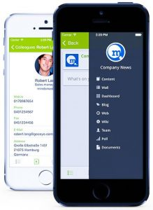 Coyo-Social-Enterprise-Collaboration-App-Mobile-Screenshots