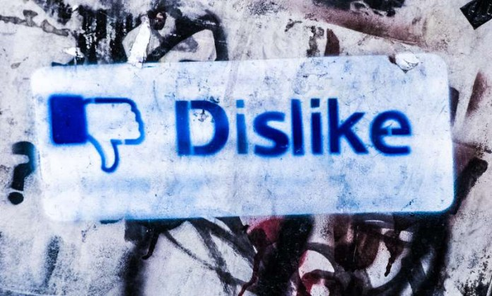 Dislike Facebook Graffiti New Features Conflict Emoji Updates Wall Urban Art Commentary