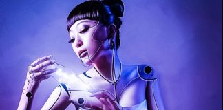 Gynoid Far Future Woman Smart Cities Sharing Economy Android Robot Droid