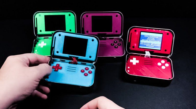 Altoids Portable Retro Gaming Geek DIY Video MintyPi 2 Mints Fresh