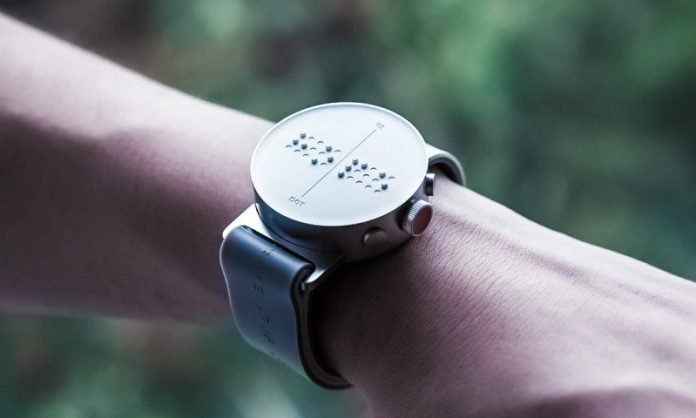 Dot Watch Braille smartwatch South Korea Design Innovation Blind Wearables