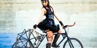 JP BERTI The Artwork of Jon Paul Berti Walking Bicycle Category Industrial Design Model Studio Shoot Steampunk Crop